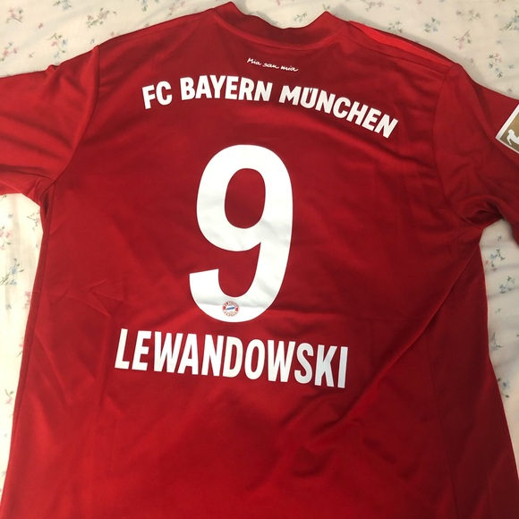 promo code ec365 7ca12 Bayern Lewandowski Jersey NWT